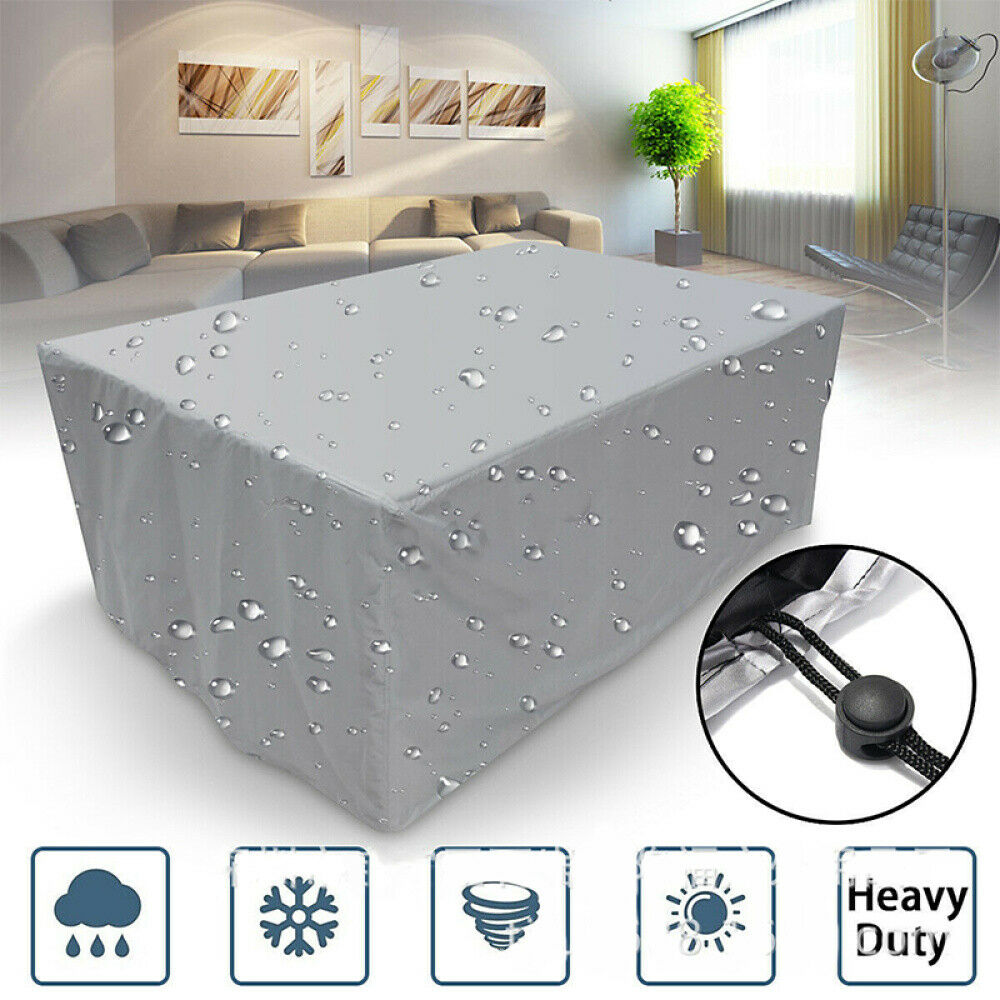 Garden Furniture - Waterproof Outdoor Furniture Cover Garden Patio Rain UV Table Protector Sofa