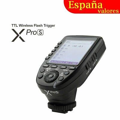 Godox XPro-S TTL 2.4G Inalámbrico HSS Flash Disparo Transmisor para Sony Cámaras
