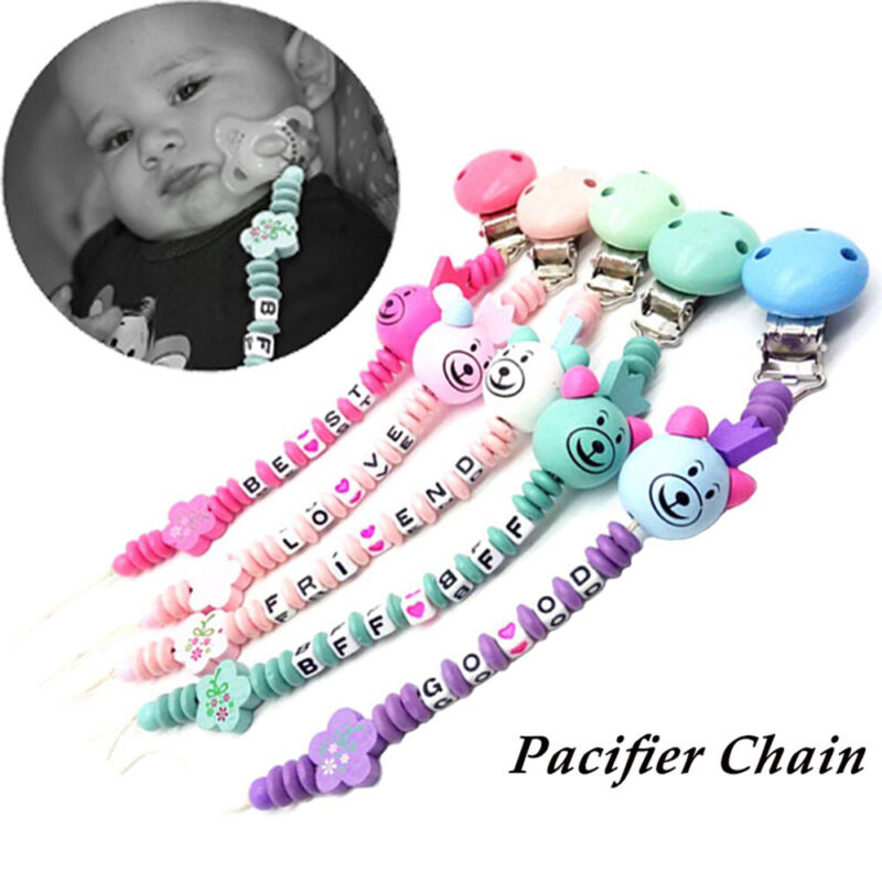 Newborn Product Pacifier Buckle Baby Nipple Clips Soother Holder Dummy Clasps