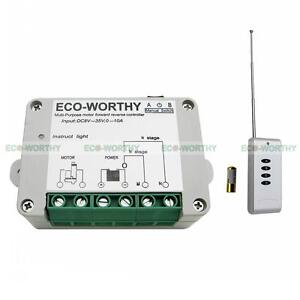 DC12/24V Wireless Remote Control Kit Motor Controller for Linear Actuator