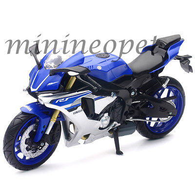 NEW RAY 57803 A 2015 15 YAMAHA YZF R1 BIKE MOTORCYCLE 1/12 BLUE for sale  Arcadia