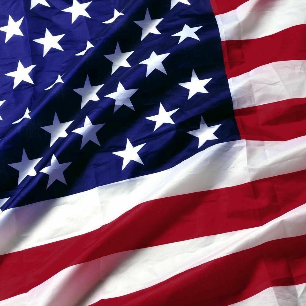 American Flag 5X8 Ft US Flag by U.S. Veterans Owned Biz. Hea
