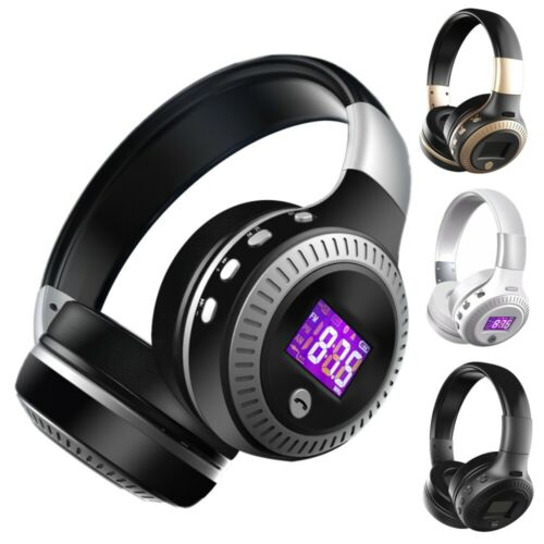 Wireless BT 4.1 Foldable Stereo Headphones Over-Ear Headset