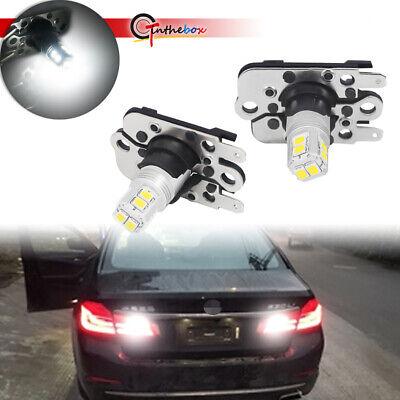For 2012-2015 Audi A7 S7 RS7 Error Free White LED Backup Reverse Lights Bulbs