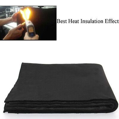 Large 4 X 6 X 6mm Welding Blanket Plumbing Shield Heat Slag Carbon Fiber Cloth