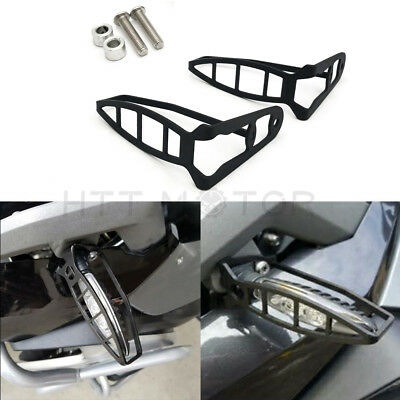 Rear Turn Signal Light Cover Guard Indicator Protector Shields For BMW F800GS 15