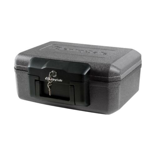 SentrySafe Chest FIREPROOF Lock Box, MAX SECURITY For Cash Gun Document Storage