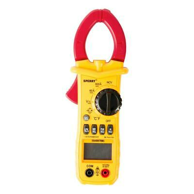 600 Amp True Rms Clamp Meter