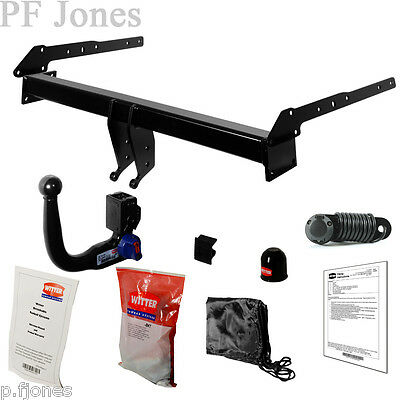 Towbar Detachable Swan Neck Towbar Ford Galaxy 2006 to 2015 with Bypass TF176VK