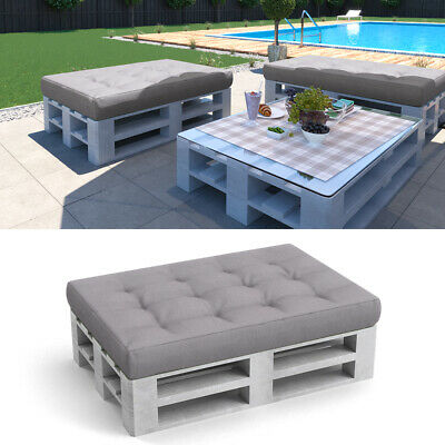Vicco pallet cushion seat cushion pallet furniture 120x80x15 PU-flake grey