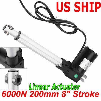 """New 6/"""" Inch Premium Linear Actuator W// 225 lbs Lift LA-04-06"""