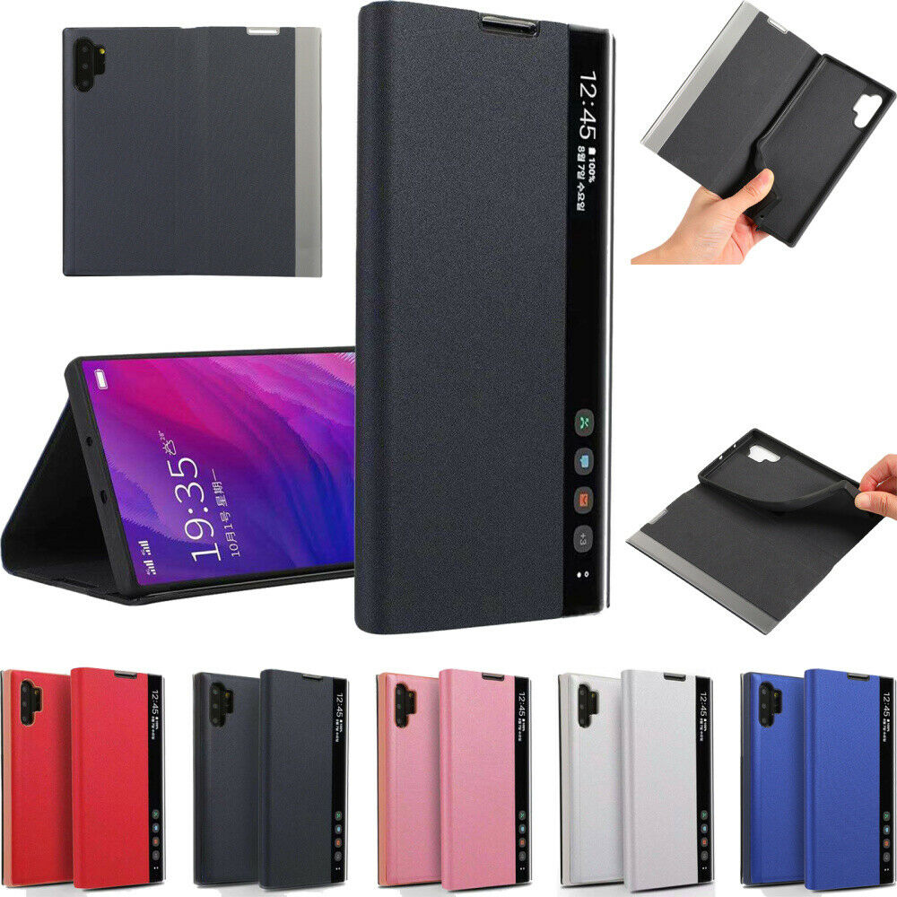 Luxury Flip Leather Phone Case Cover For Samsung Galaxy Note