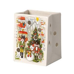 VILLEROY & BOCH Christmas Light Windlicht Teelichthalter Tüte Weihnachtsdeko NEU