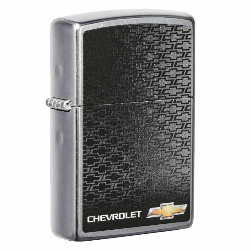 Zippo Chevrolet Logo Street Chrome Pocket Lighter, 49304