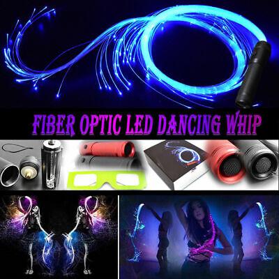 LED Fiber Optic Pixel 360° Whip Flow Toys Light up 6