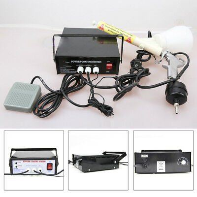 Pc03-5 Portable Electric Powder Coating System Paint Gun Auto Body Coat Machine