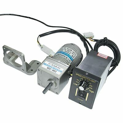 2gn High Torque 6w Ac 110v 450rpm Electric Geared Reducer Motor Speed Controller