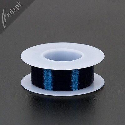Magnet Wire Enameled Copper Blue 40 Awg Gauge 130c 18 Lb 4000
