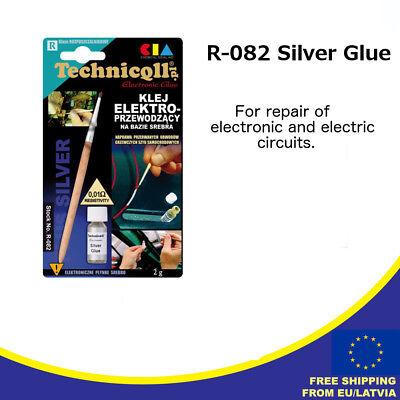 Technicqll R-082 Electro Conductive Silver Glue For Car Window Defogger Repair