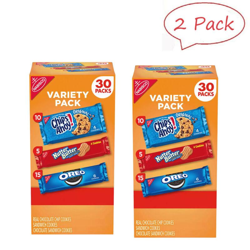 Nabisco Cookie Variety Pack (30 pk.) 2 Box