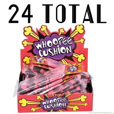 24 Fart Whoopee Cushion - party joke supplies whoopie wholesale lot](Party Supply Wholesalers)