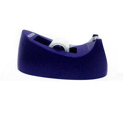 Purple Desktop Tape Dispenser Bazic Standard Size 1 Core Rolls Desk Office Home