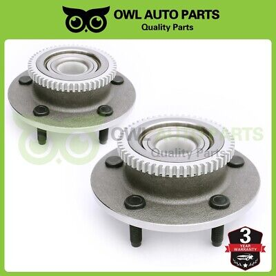For 2000 2001 2WD Dodge Ram 1500 Front Wheel Bearings Hub Assembly Pair 515084