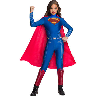Girls Superman Jumpsuit Halloween Costume](Superman Girl Costumes)