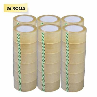 Yens 36 Rolls 2 Clear Tapes 110 Yard 330 Ft Carton Sealing Clear Packing Tape