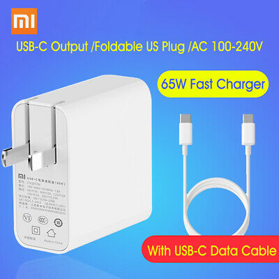Xiaomi AC 100-240V USB-C Charger 65W Power Adapter Fr Phone