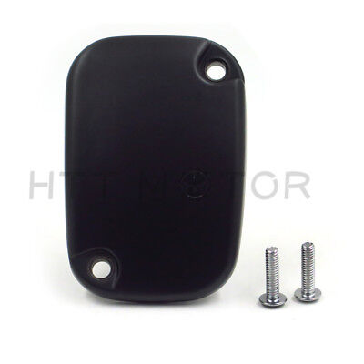 Master Cylinder Top Cover (Black Hydraulic Clutch Master Cylinder Cover Top Lid For 14-16 Harley)