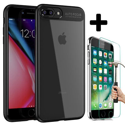 Housse Etui Coque Bumper Cover iPhone 6S/6/7/Plus/8/X 5S/SE + Film Verre trempé