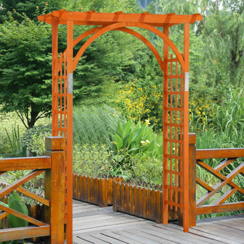 Wooden Garden Arbor Arches Pergola Trellis Wedding Party Arc