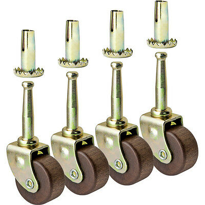 Hardwood Casters Pack Of 4