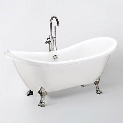 Exclusive freistehende Badewanne Acrylwanne Wanne Dusche Bad 176x74 Ablauf