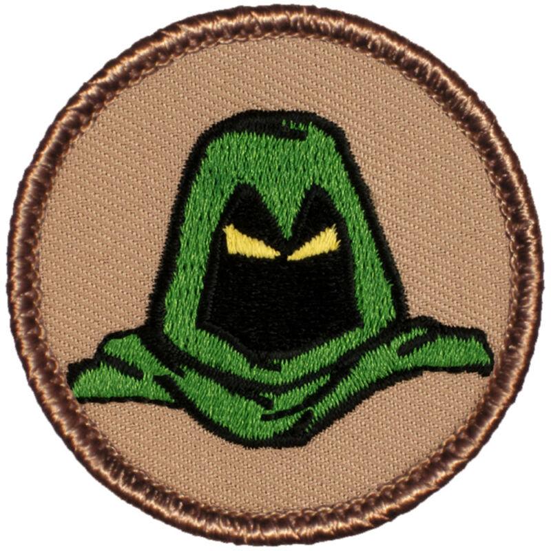 Awesome Boy Scout Patrol Patch! - #550A The Green Phantom Patrol!