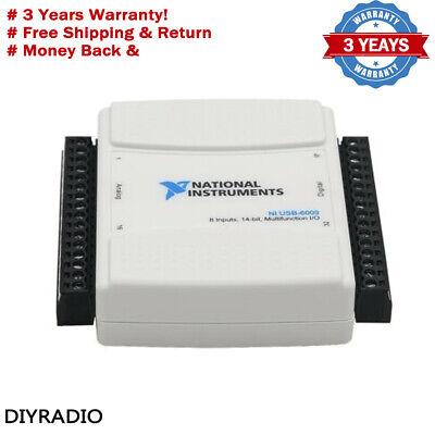 National Instruments Usb-6009 Usb Data Acquisition Card Daq 779026-01 Original