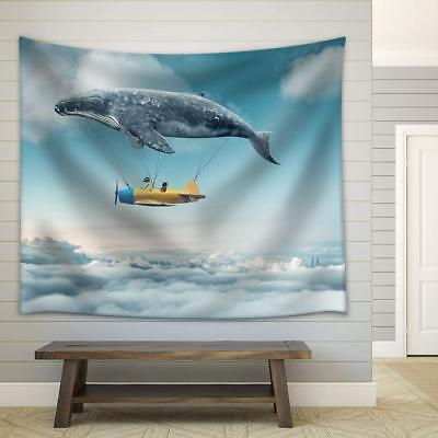 wall26 - Take Me to the Dream - Fabric Wall Tapestry Home De