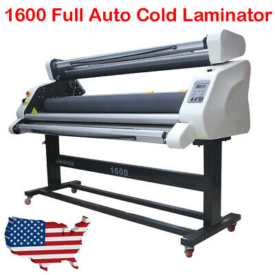 60 Pro Full Auto Low Temp Roll Laminator Cold Laminating Machine Wide Format Us