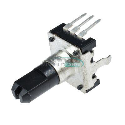 5pcs Rotary Encoder Ec12 Audio Digital Potentiometer 15mm Handle