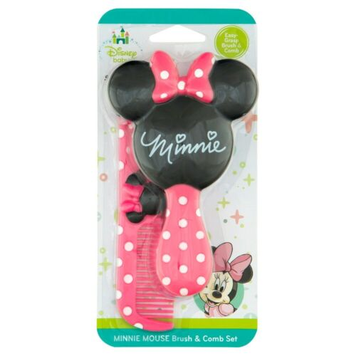 Disney Baby Minnie Mouse Hair Brush & Comb Set - New