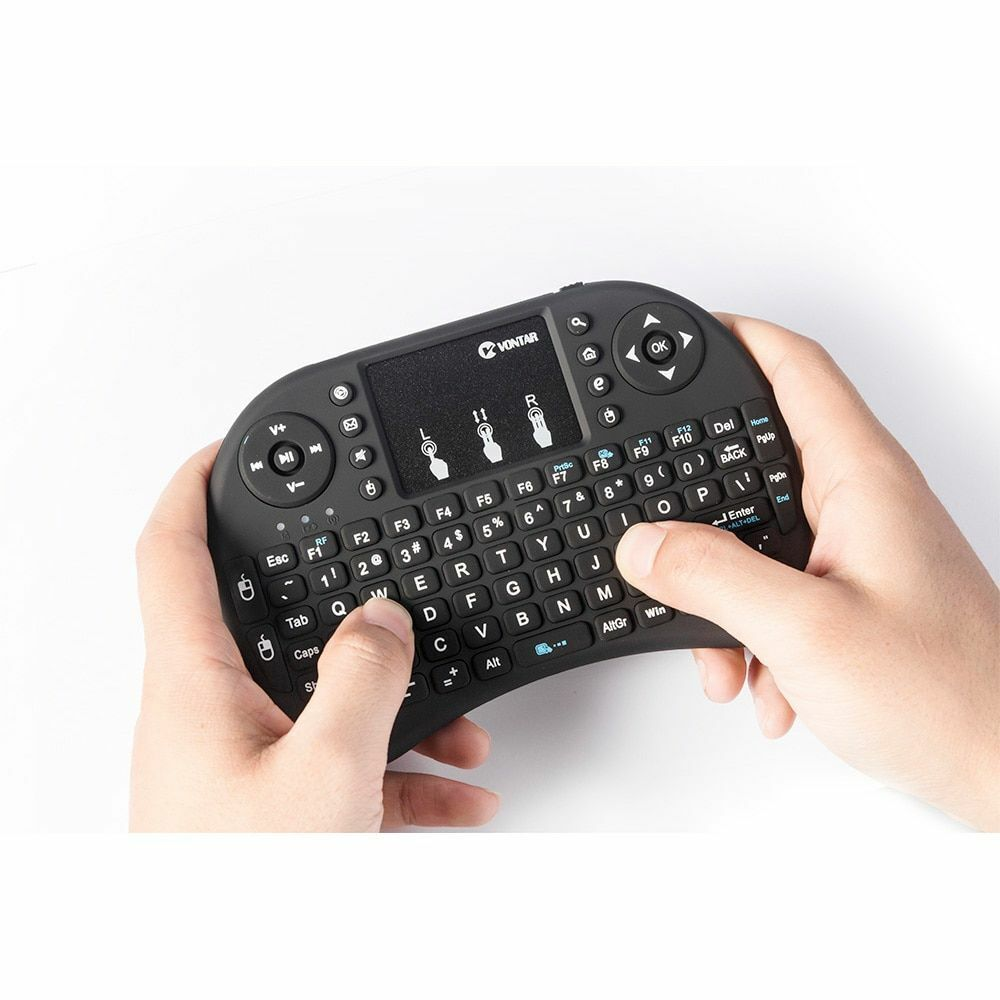 Wireless Keyboard Russian English Hebrew Air Mouse Touchpad