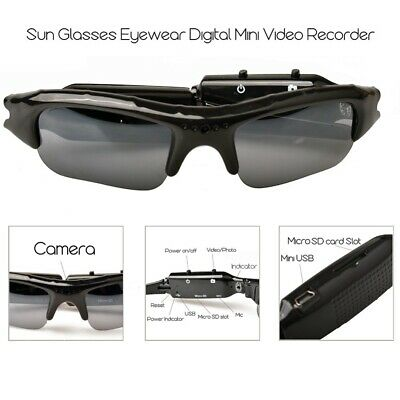 Sunglasses Eyewear Outdr Digital Mini Video Recorder Camera DVR Supports TF Card for sale  Shipping to Nigeria