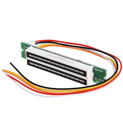 Mini Dual 12 Level Indicator Vu Meter Stereo Agc Mode Diy Kit Led Display