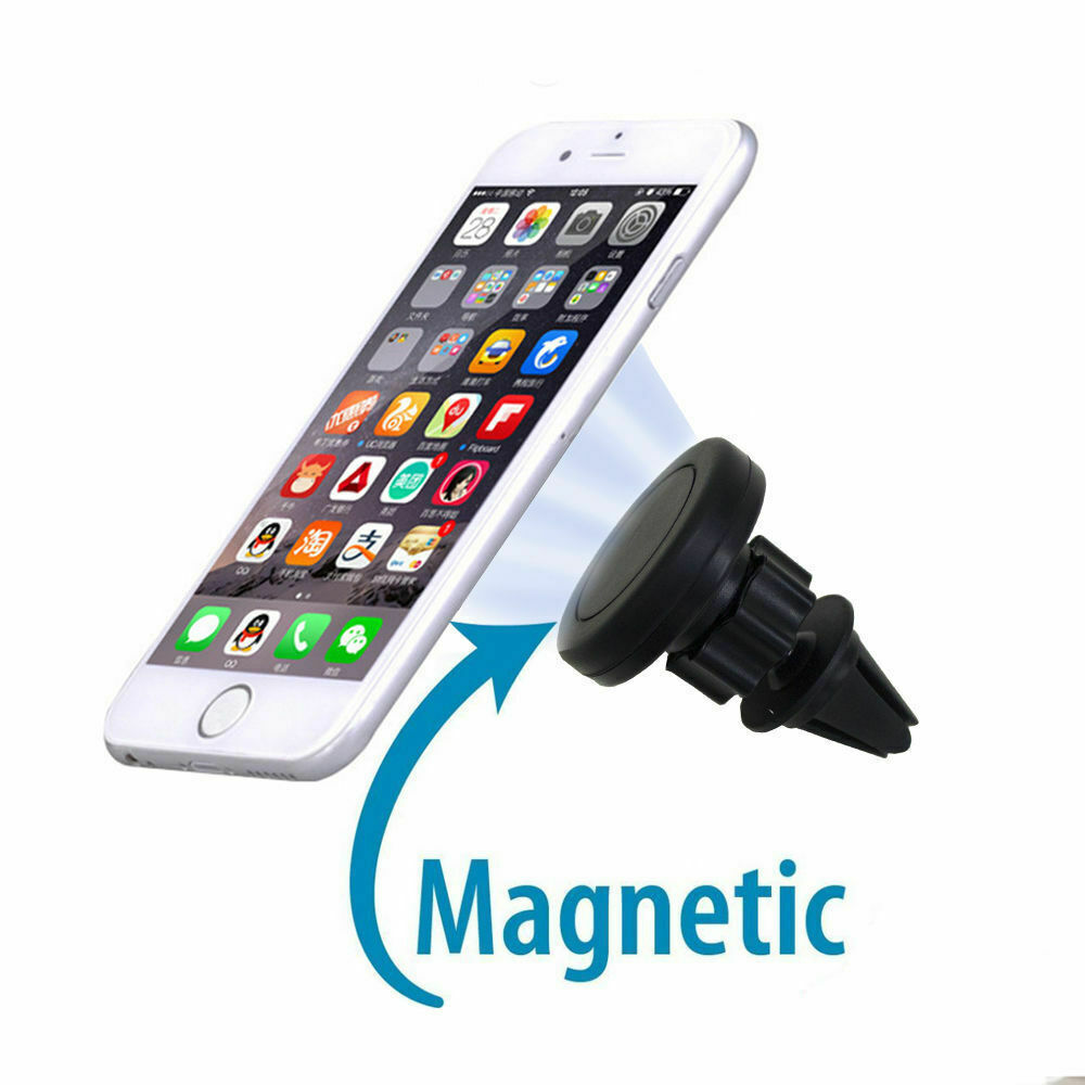 Car Air Vent Mount 360 ° Clip Magnetic Holder Grip GPS For Cell Phone Universal Cell Phone Accessories