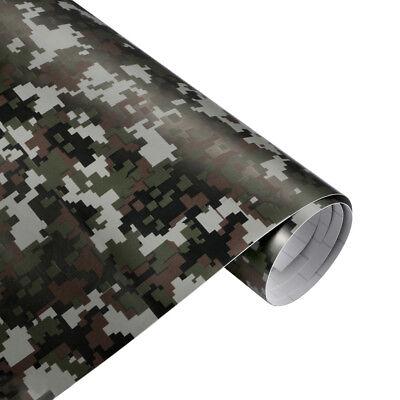 Digital Camouflage Folie 100cm x 152cm Luftkanäle Car Wrap Autofolie #2