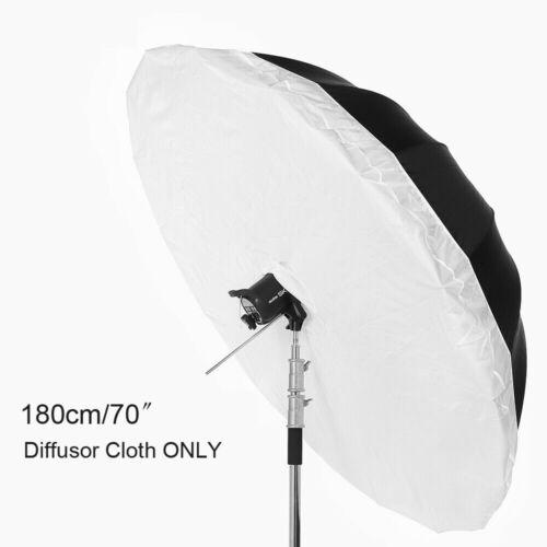 "180cm 70"" White Cloth Fabric Sheet for Photography Umbrella Strobe COB Lighting"