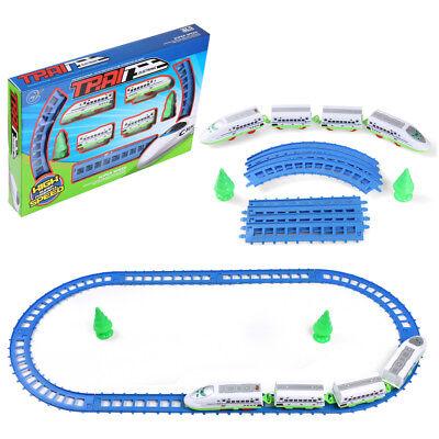 14PCS Electric Super Speed Bullet Train Tracks Tree Play Set Kids Toy Xmas Gift
