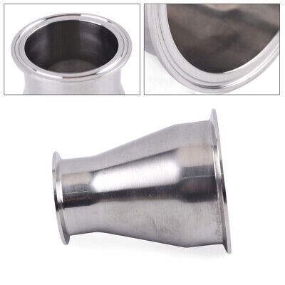 Stainless Steel 304 Tri Clamp Sanitary Concentric Reducer Tri Clamp Clover New