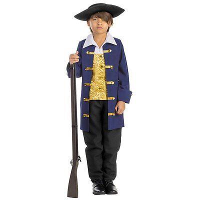 Dress up America Kids Boys Colonial Aristocrat Costume Set (Colonial America Kostüme)